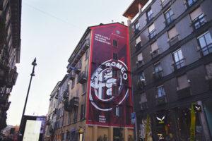 murales alfa romeo a milano